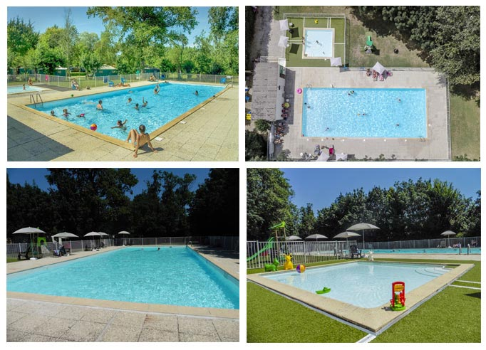 Camping with  Swimming-pool Marais Poitevin