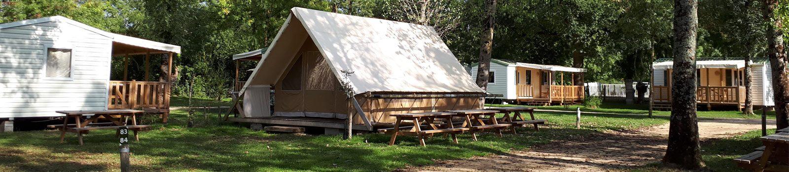 Location tente Toile et Bois Marais Poitevin