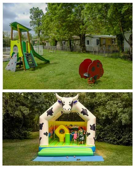 speelplaats kamperen lidon