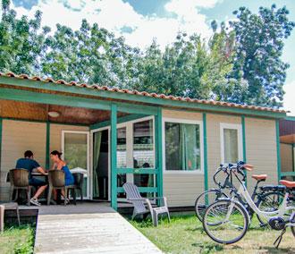 camping location chalet marais poitevin