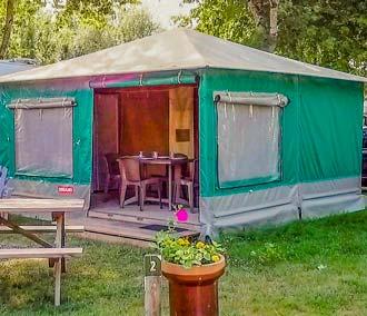 camping location toile marais poitevin