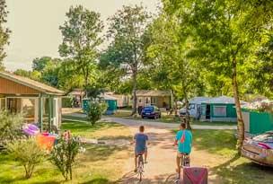camping location velo marais poitevin
