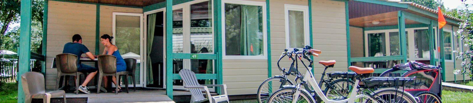location chalet camping marais poitevin